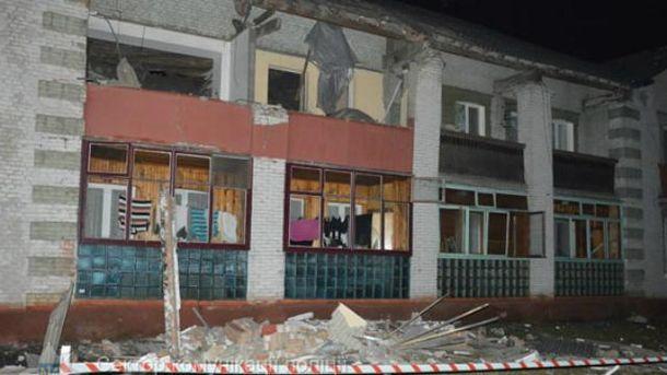 Взрыв бытового газа разнес дом наВолыни
