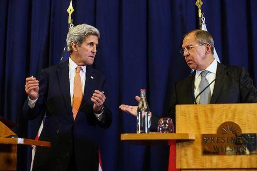 Лавров иКерри обсудили урегулирование ситуации вСирии