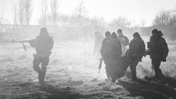 За прошлые сутки взоне АТО умер один украинский военный
