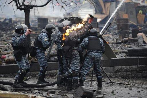 Вплоть доэтого времени работают практически половина беркутовцев, которые разгоняли Майдан,— обвинитель