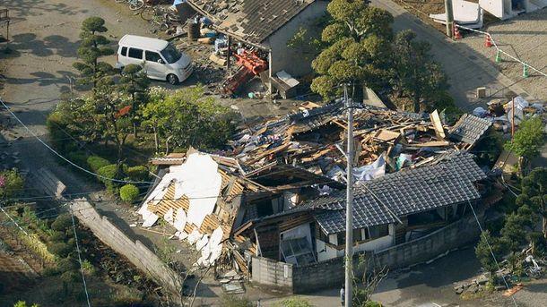 Японію знову струсонув потужний землетрус