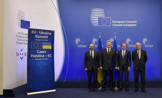 Порошенко рассчитывает, что ассоциацияЕС с государством Украина заработает пополной 15