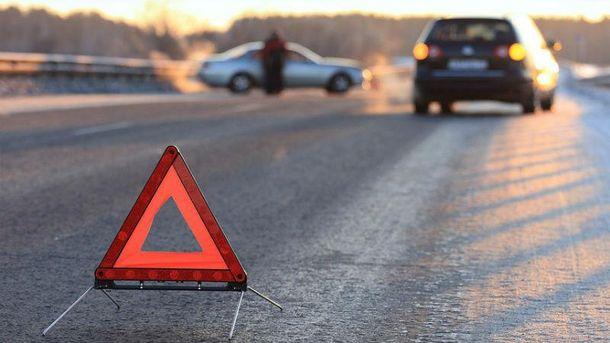 Врезультате дорожно-траспортного происшествия около КПВВ «Марьинка» пострадали 7 человек