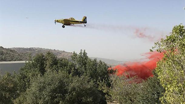 Российская Федерация, Азербайджан иТурция помогли Израилю справиться спожарами