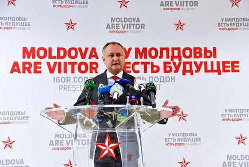 Новый президент Молдовы Додон поедет в столицу еще доинаугурации