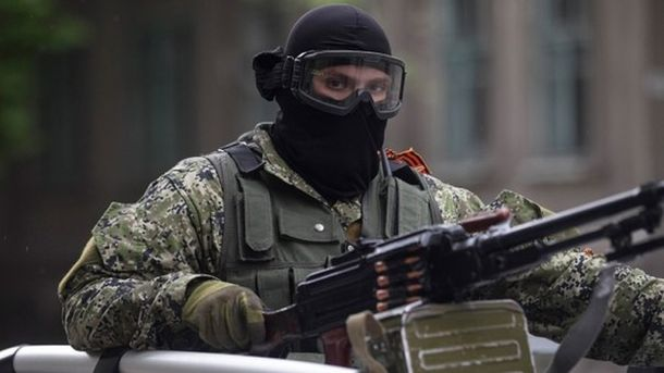 Боевики обстреляли дом наоккупированной территории— штаб