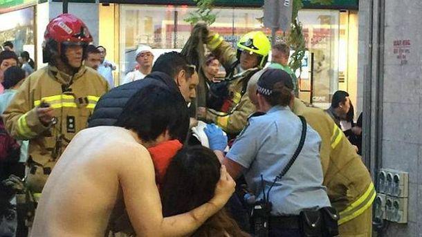 При взрыве вавстралийском Сиднее ранения получили 14 человек