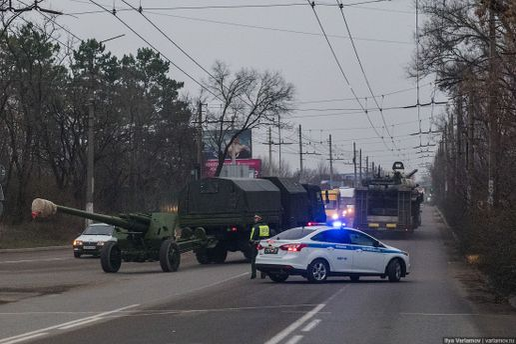 NformNapalm: РФ перебросила вКрым зенитно-ракетный комплекс