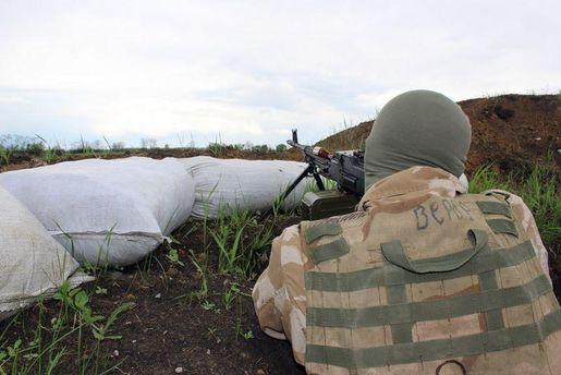 ВЛуганской области засутки пострадали трое украинских военных