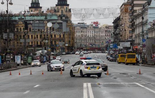 Сегодня вцентре украинской столицы частично ограничат движение