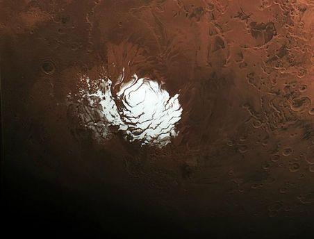 Американские учёные сообщили, что наМарсе выпал снег