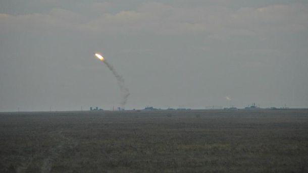 Военные ожидают улучшения погоды для начала испытаний ракет наюге Украинского государства