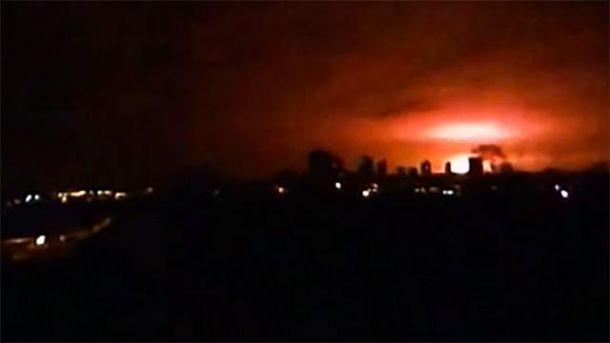 ВДонецке прогремел мощнейший взрыв, приблизительно ввоздух взлетел склад боеприпасов,