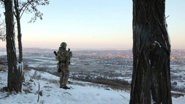 Засутки взоне АТО погиб один украинский военный