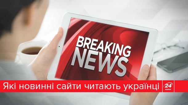 ТОП-10 самых популярных новостных сайтов Украины (Инфографика)