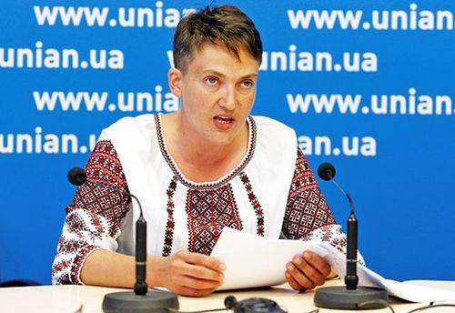 Савченко встречалась сПлотницким иЗахарченко— СБУ