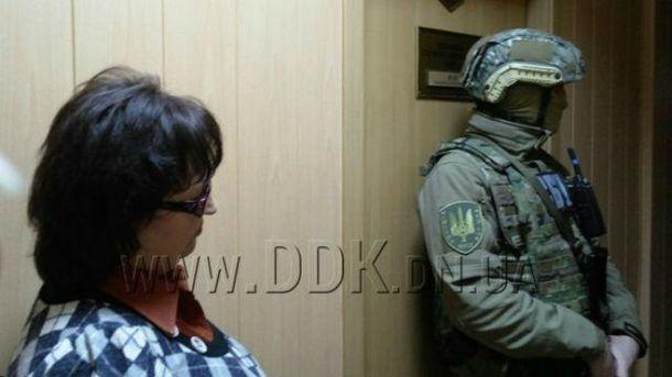 СБУ устроило «маски-шоу» вкабинете главы города Покровска
