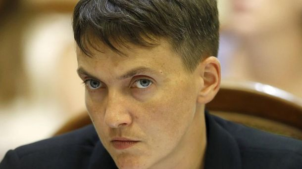 Савченко сказала привет главарю террористов— Эксперимент