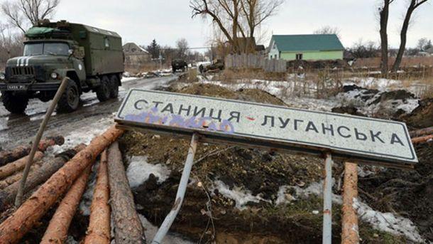 НаКПВВ «Станица Луганская» террористы ранили пограничника