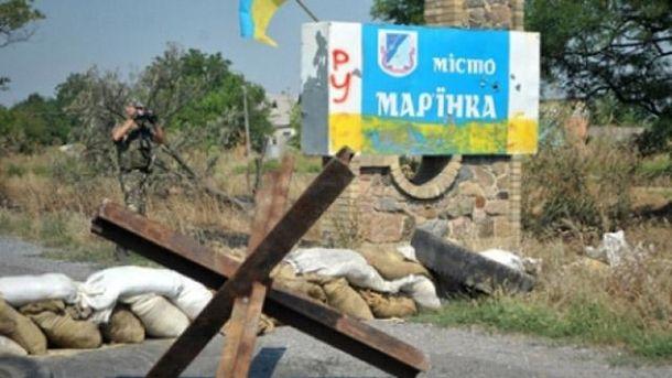 ВМарьинке в итоге разрыва снаряда ранен мирный гражданин