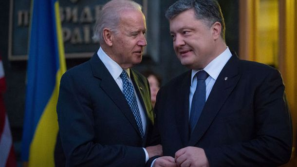 Порошенко иБайден обсудили санкции противРФ