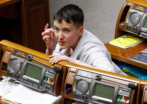Савченко впервый раз прокомментировала свое исключение из«Батькивщины»