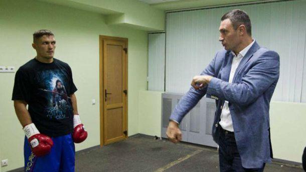 Виталий Кличко: «Бой сМчуну поднял Усика еще наодну ступеньку вверх»