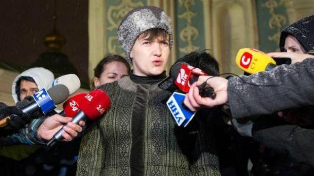 Надежду Савченко официально исключили из«Батькивщины»
