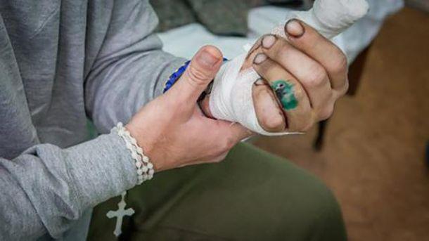 Большое количество раненых бойцов доставили вхарьковский госпиталь завыходные