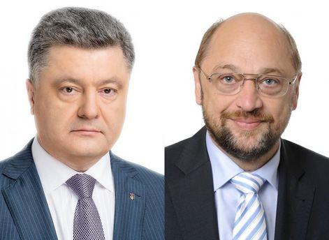 Шульц подтвердил готовностьЕП закончить все процедуры побезвизовому режиму для Украинского государства