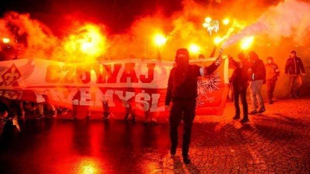 Поляка могут посадить втюрьму закрики «смерть украинцам»