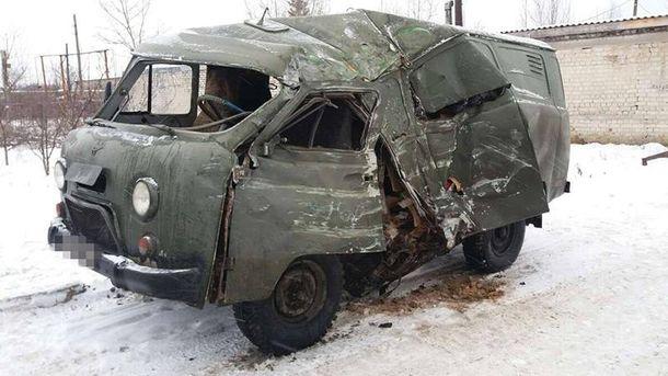 ВЛуганской области автобус столкнулся своенным авто, есть пострадавшие