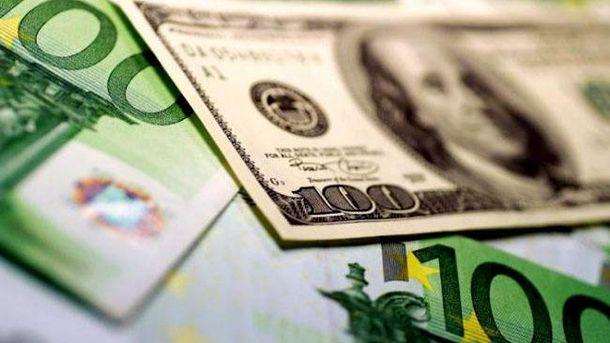 Официальный курс гривни кдоллару иевро опустился