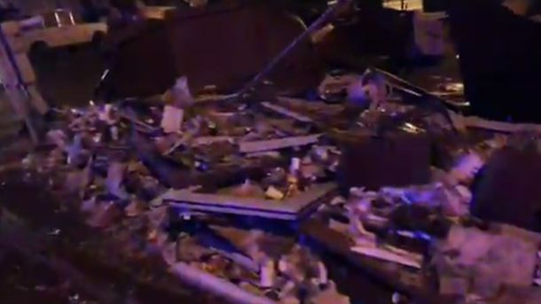 Ночью вцентре украинской столицы неизвестные разгромили ряд киосков