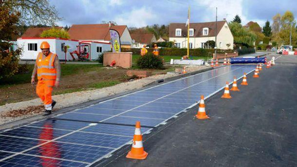 Французы поедут подороге изсолнечных батарей