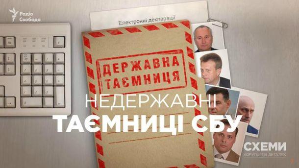 ВНАЗК убеждают, что неимеют доступа ке-декларациям работников СБУ