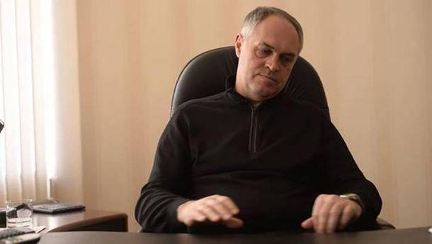 ВТорецке депутата Рады облили красной краской