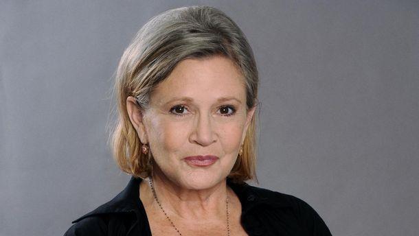 СМИ проинформировали окритическом состоянии исполнительницы Кэрри Фишер