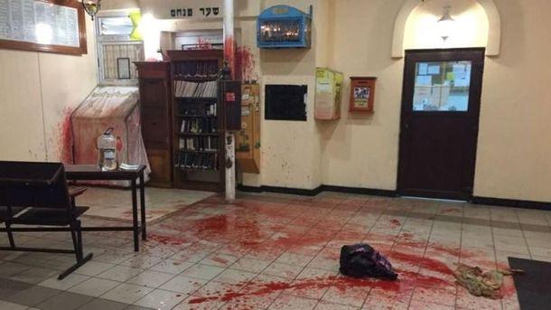 Милиция  составила фоторобот подозреваемого восквернении синагоги вУмани