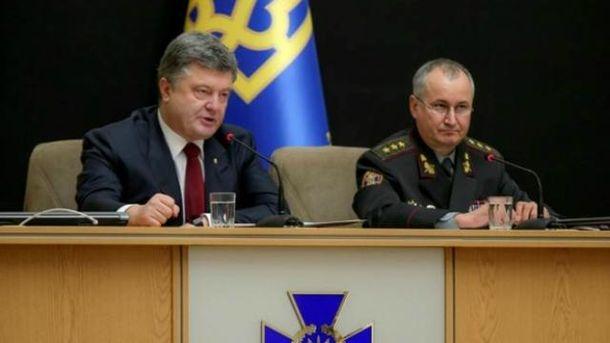 Грицак назвал неожиданностью ночной визит Порошенко вСБУ