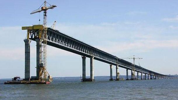 Минтранс прокомментировал срыв сроков возведения Керченского моста