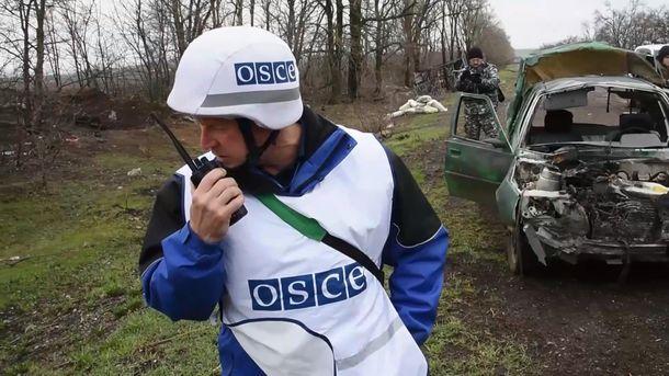 СММ ОБСЕ эвакуировала базу изСветлодарска из-за обстрелов