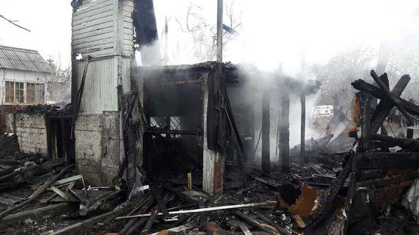 Ужасный пожар вКиеве: впламени погибли четверо детей