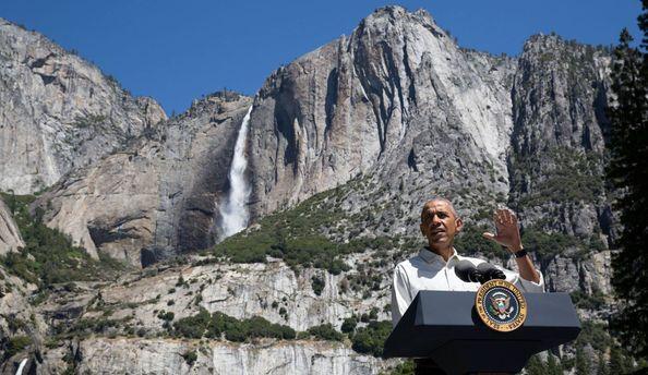Обама 10января обратится кнации спрощальной речью