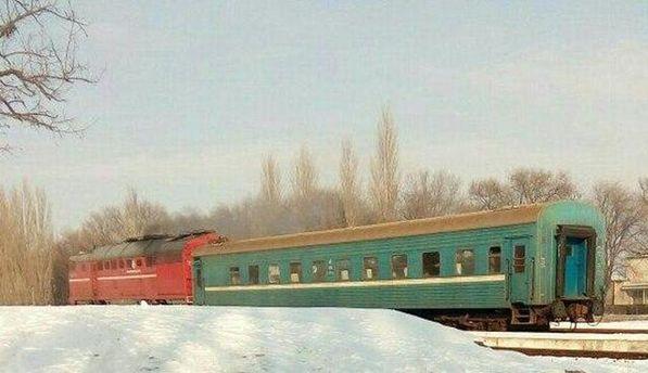 Потяг у Криму