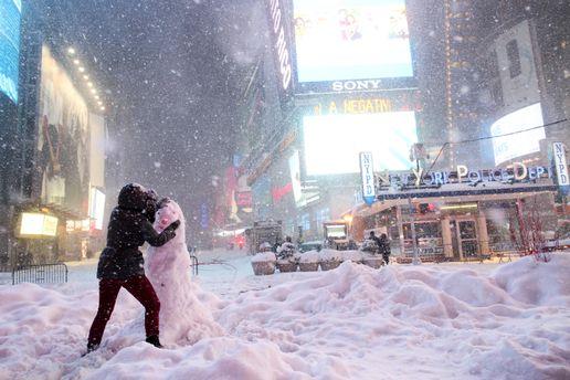 Появилось смешное видео изТурции— Месть снеговика