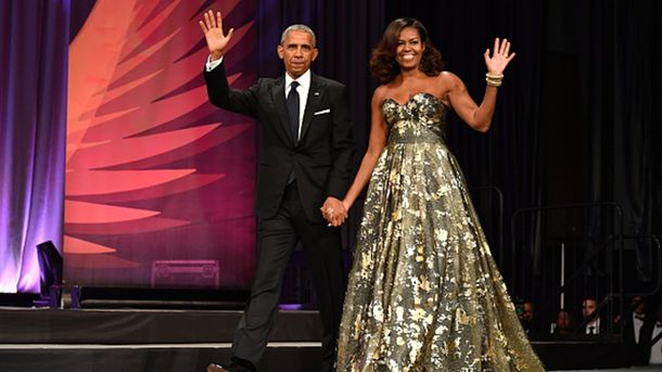 Напрощальную вечеринку Барака Обамы вБелом доме приехали голливудские звезды