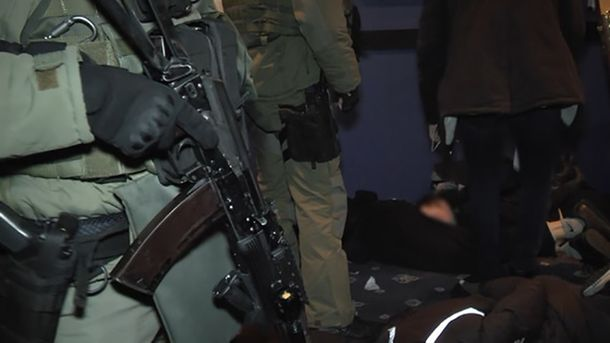 Огромную банду нападающих задержали вКиеве