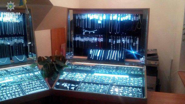 Попытка ограбления ювелирного магазина вХарькове неудалась
