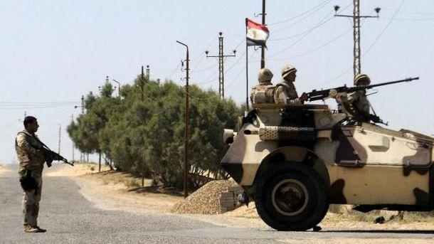 Боевики атаковали блокпост милиции вЕгипте